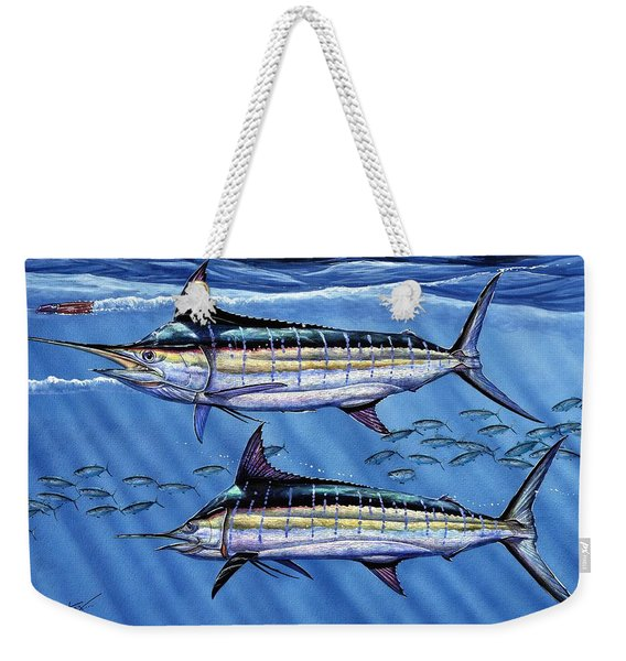 Marlins Twins Weekender Tote Bag