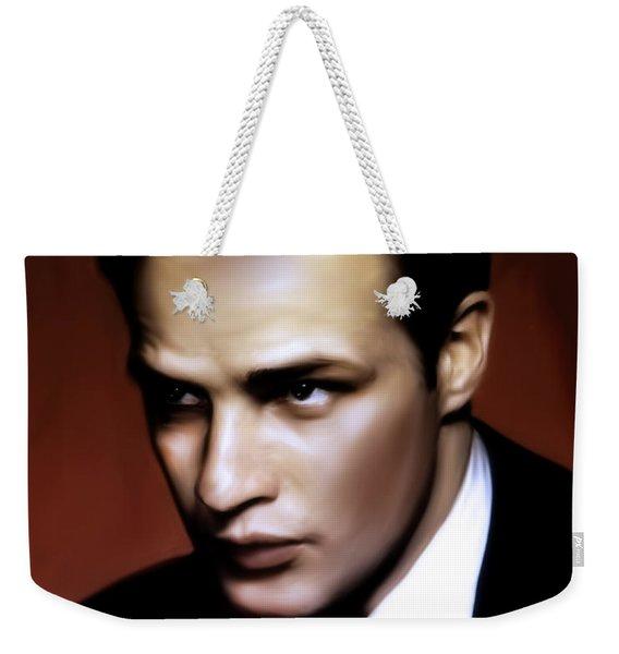 Marlon Brando Tribute Weekender Tote Bag