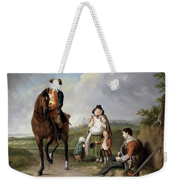Marquess Of Granby Relieving A Sick Weekender Tote Bag