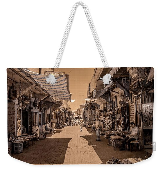 Marrackech Souk At Noon Weekender Tote Bag