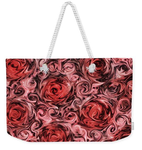 Marsala Roses Weekender Tote Bag