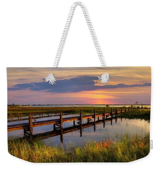 Marsh Harbor Weekender Tote Bag