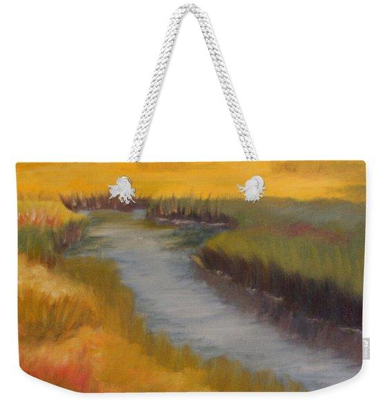 Marsh Mellow Weekender Tote Bag