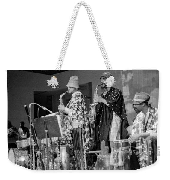 Marshall Allen And Danny Davis Weekender Tote Bag
