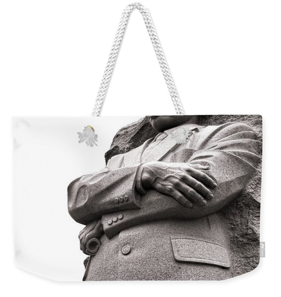Martin Luther King Memorial Statue Weekender Tote Bag