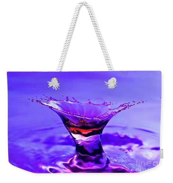 Martini Splash Weekender Tote Bag
