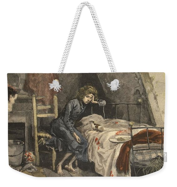 Martrydom Of The Child A Young Guyon Weekender Tote Bag