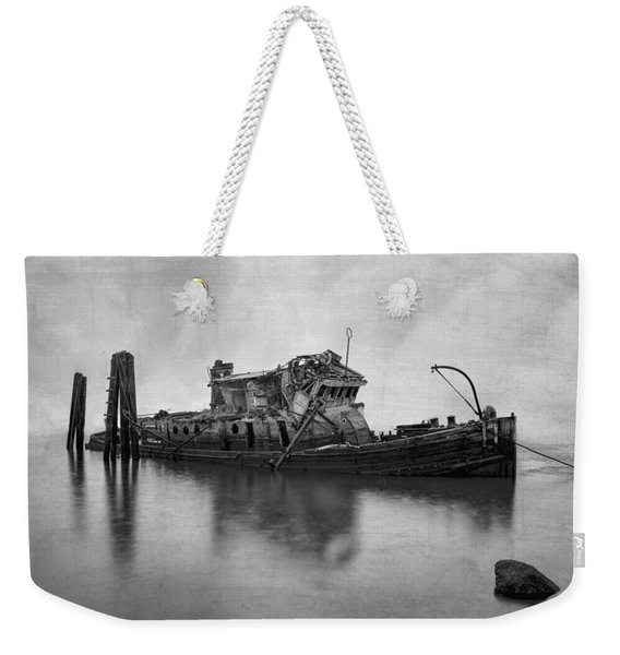 Mary D Hume In Bw Weekender Tote Bag