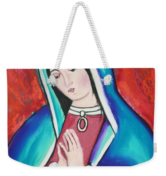 Mary Weekender Tote Bag