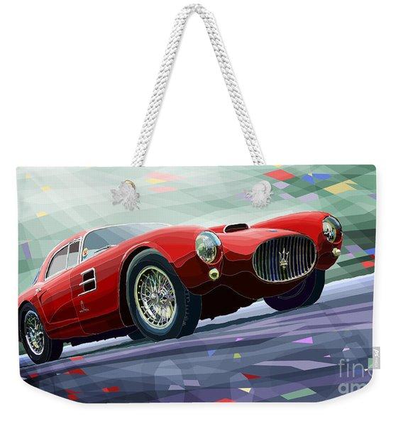 Maserati A6gcs Berlinetta By Pininfarina 1954 Weekender Tote Bag