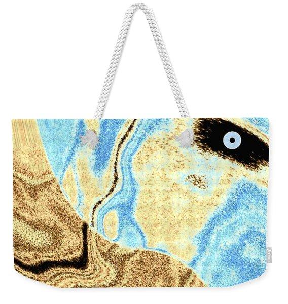 Masked- Man Abstract Weekender Tote Bag