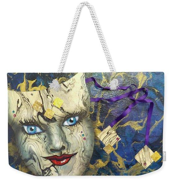 Masquerade Blues Weekender Tote Bag