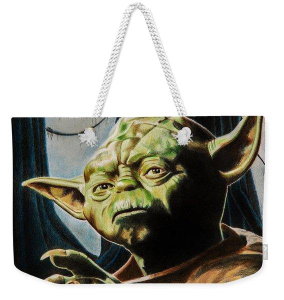 Master Yoda Weekender Tote Bag