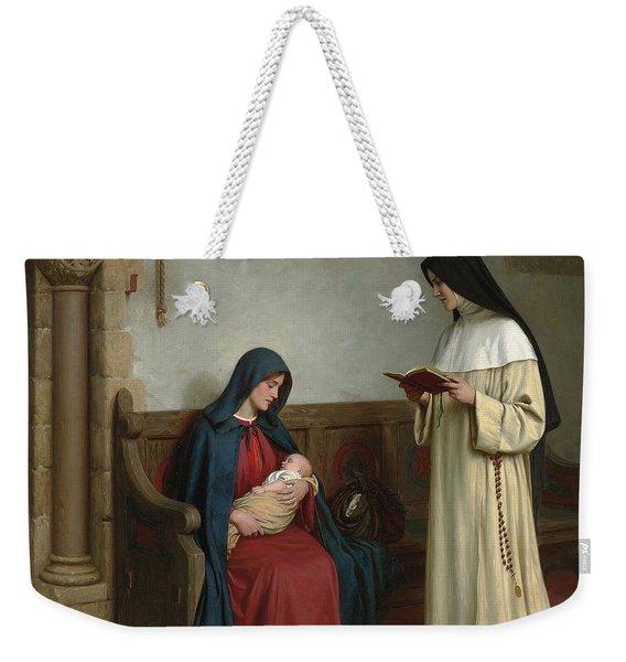 Maternity Weekender Tote Bag