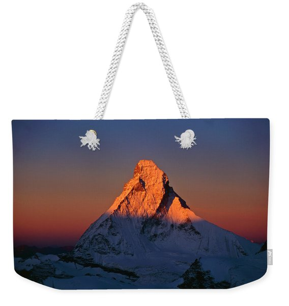 Matterhorn North Face At Sunrise Weekender Tote Bag