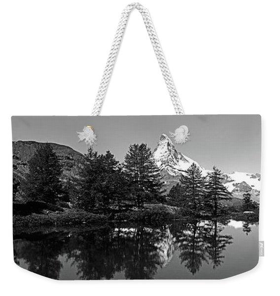 Matterhorn Reflecting Into Grindjisee Weekender Tote Bag