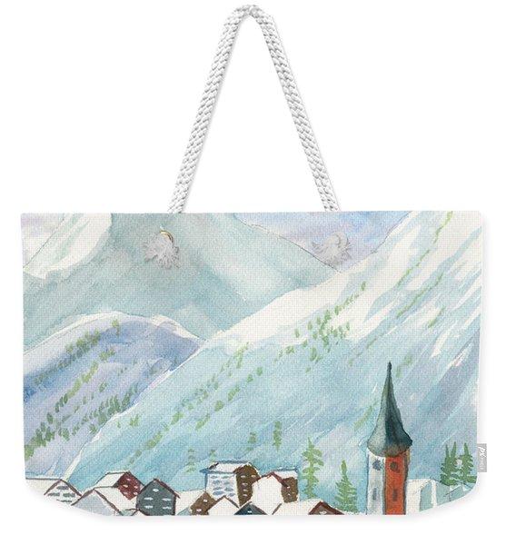 Matterhorn Weekender Tote Bag
