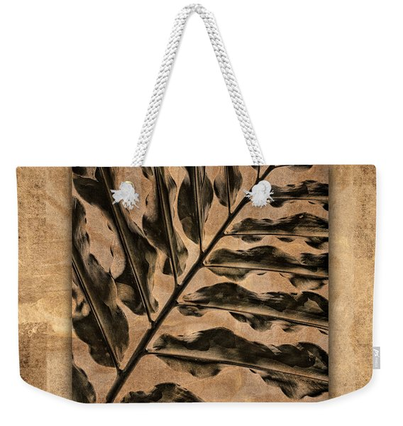 Maui Tropic Brown Weekender Tote Bag