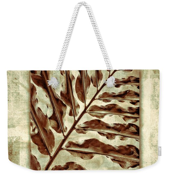 Maui Tropic Green Weekender Tote Bag