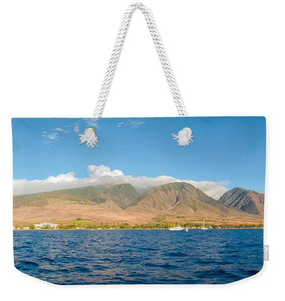 Maui's Southern Mountains   Weekender Tote Bag
