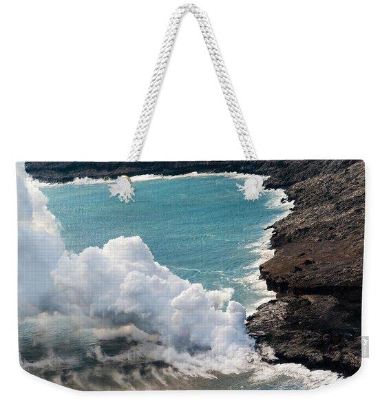 Mauna Loa Weekender Tote Bag