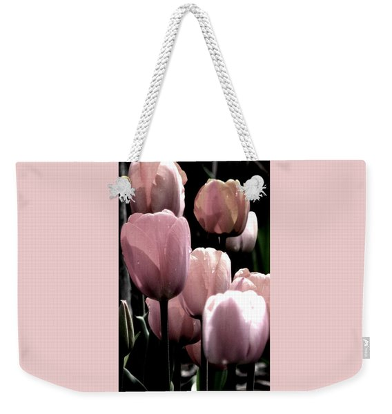 Mauve In The Morning Weekender Tote Bag