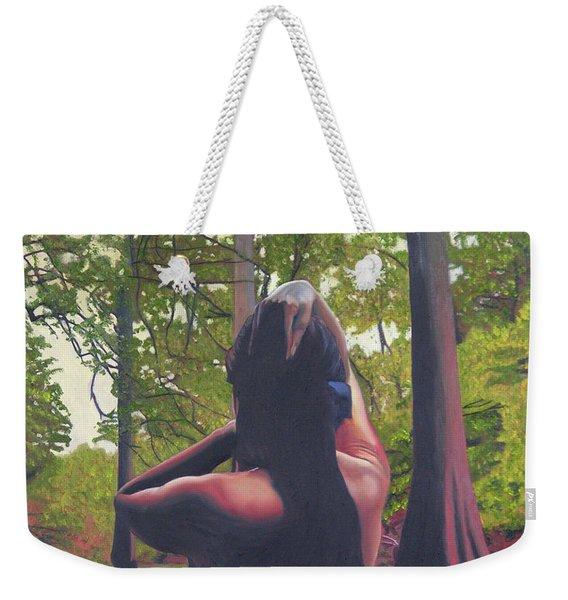 May Morning Arkansas River 5 Weekender Tote Bag