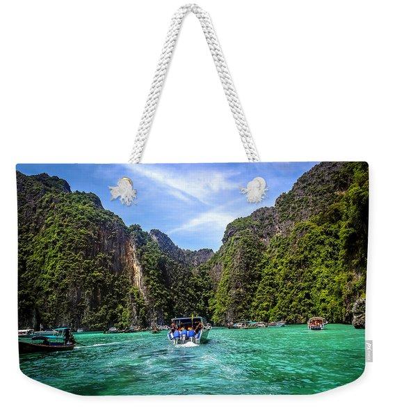 Maya Bay Weekender Tote Bag