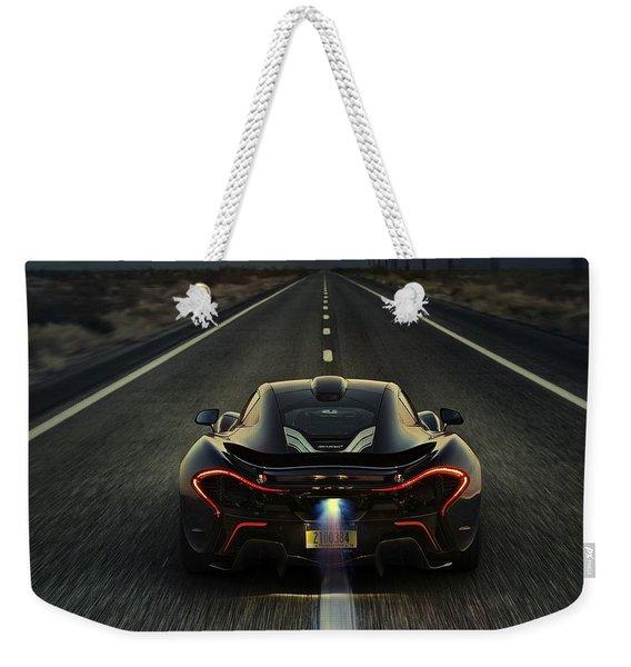 Mclaren P1 2014 Weekender Tote Bag