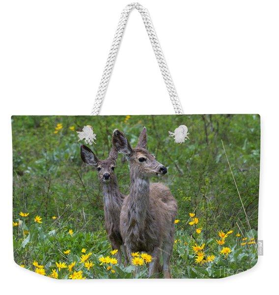 Meadow Meal Weekender Tote Bag