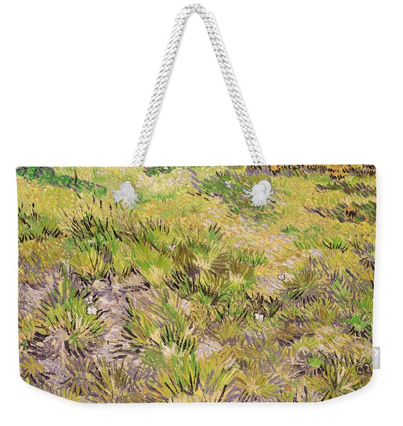 Meadow With Butterflies Weekender Tote Bag