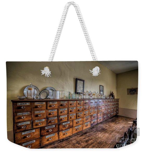 Medicine Cabinet Weekender Tote Bag
