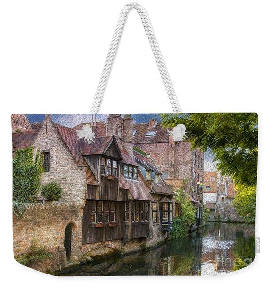 Medieval Bruges Weekender Tote Bag