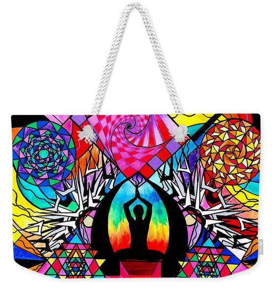 Meditation Aid Weekender Tote Bag