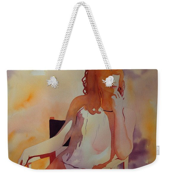 Meditation Weekender Tote Bag
