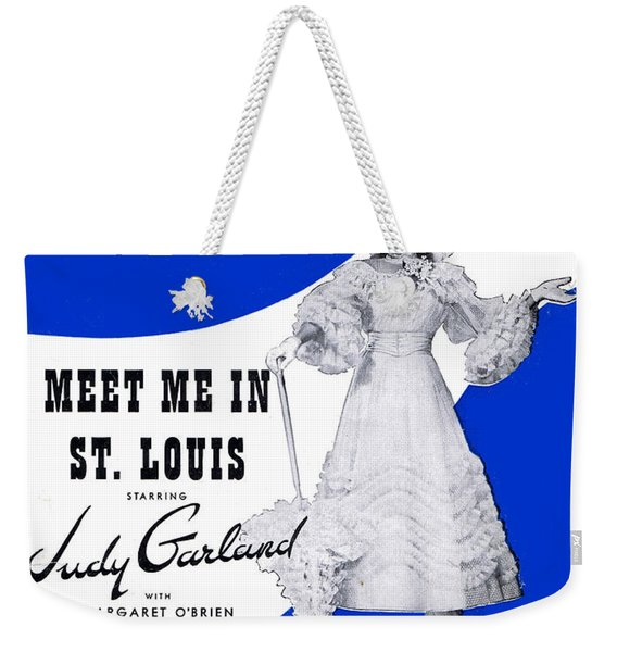Meet Me In St Louis Louis Weekender Tote Bag