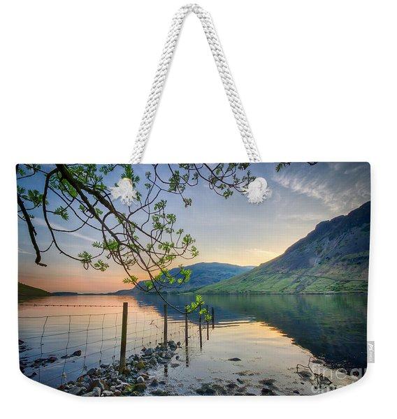 Melancholy Of Sunset Weekender Tote Bag