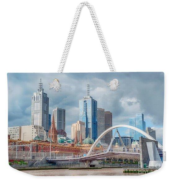 Melbourne Australia Weekender Tote Bag