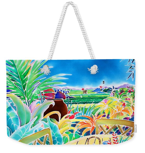 Mellow Afternoon Weekender Tote Bag