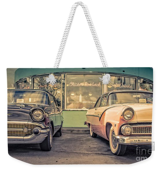 Mel's Drive-in Weekender Tote Bag