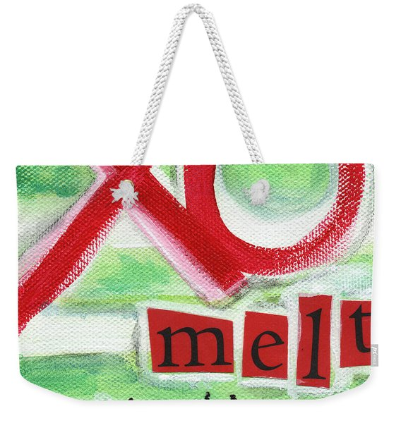 Melt With You Weekender Tote Bag