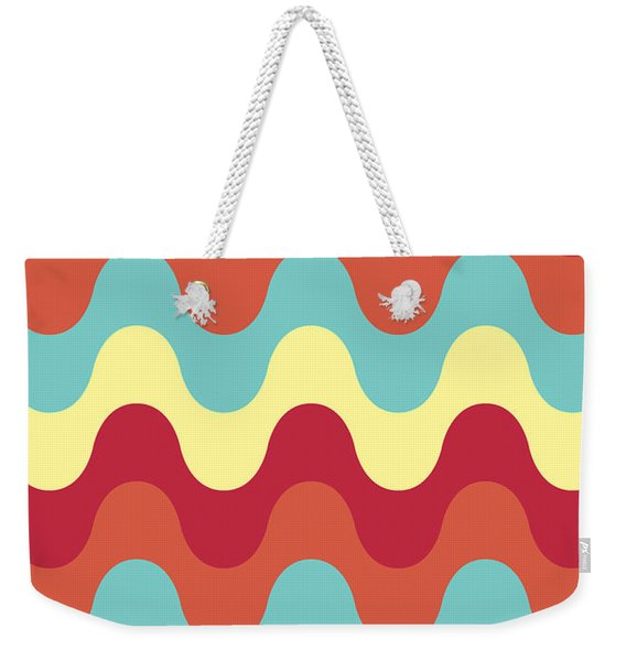 Melting Colors Pattern Weekender Tote Bag