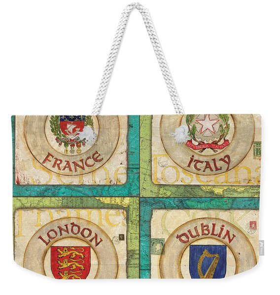 Melting Pot Patch Weekender Tote Bag