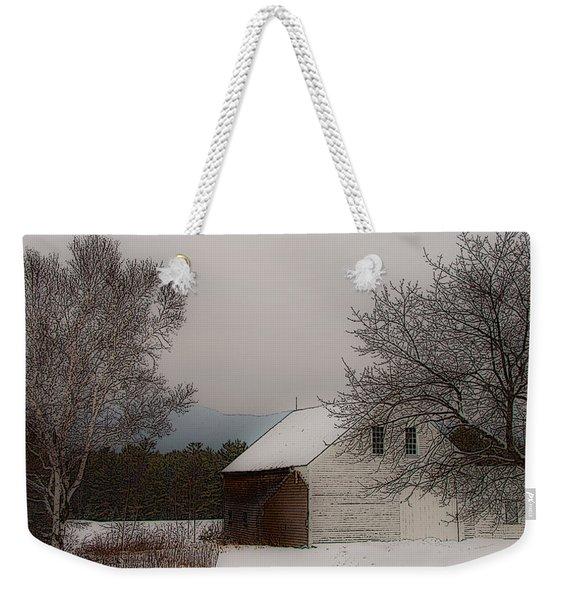 Melvin Village Barn Weekender Tote Bag