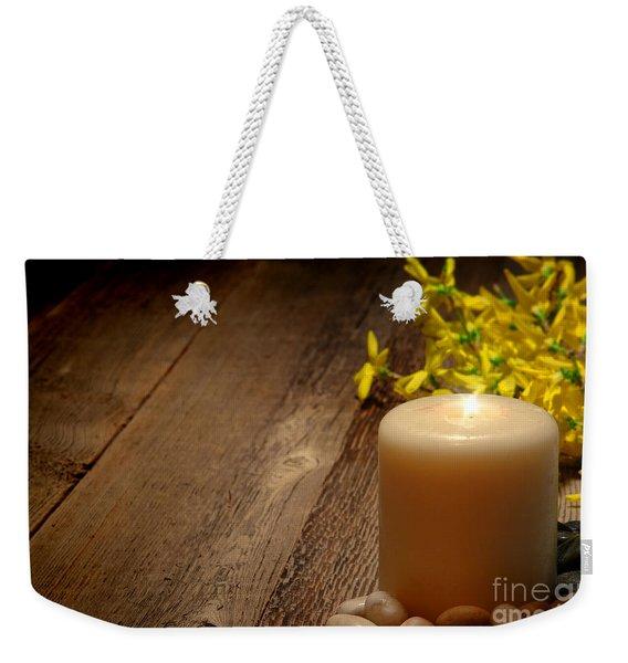 Memorial Candle Weekender Tote Bag