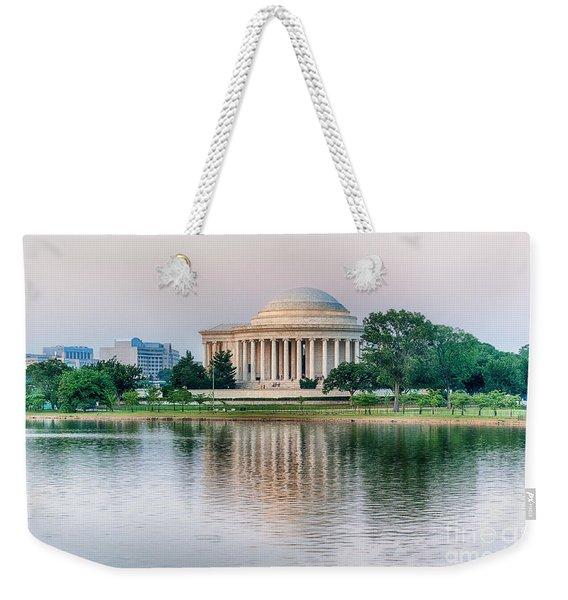 Memorial Sunset Weekender Tote Bag
