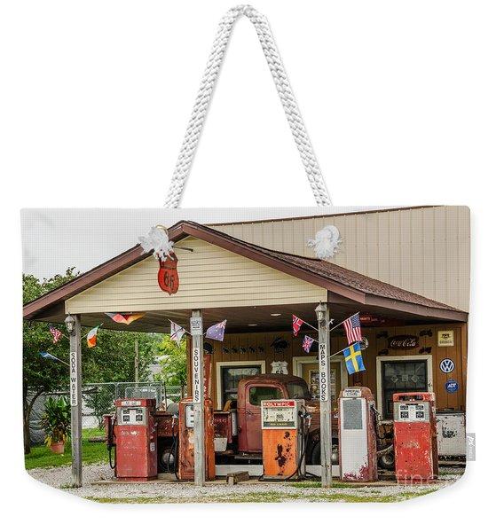 Memories Of Route 66 Weekender Tote Bag