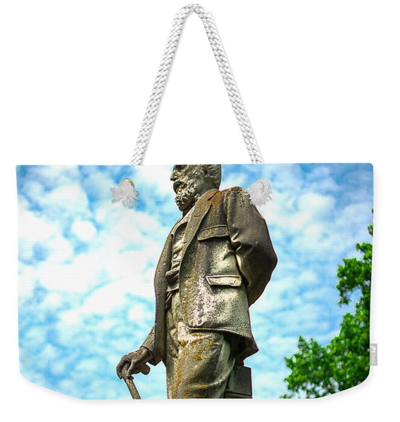 Memphis Elmwood Cemetery - Man With Cane Weekender Tote Bag