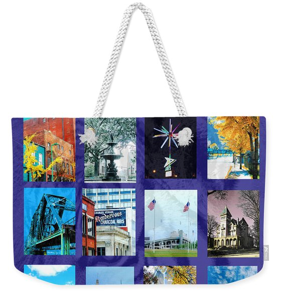 Memphis Weekender Tote Bag