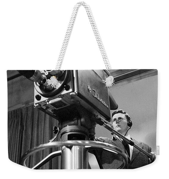 Memphis Television - 1956 Style Weekender Tote Bag